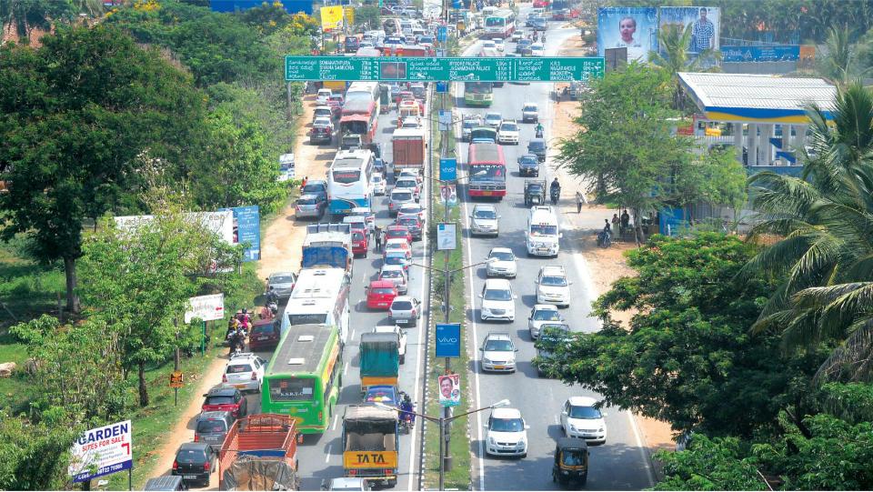 6-Lane Mysuru-Bengaluru Highway Gets Centre's Nod
